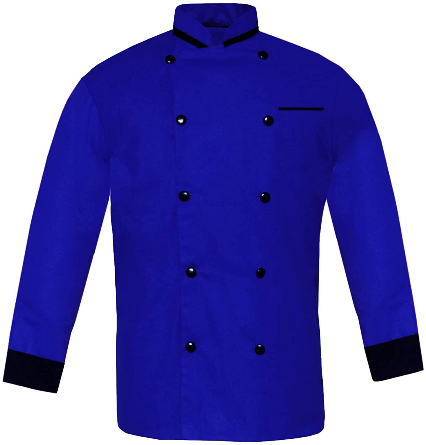 Leorenzo Modeling HA-04 Men Chef Jacket in 10 Colours (12 Sizes)