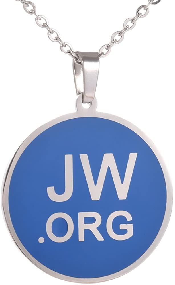 GuDeKe Jw.org Stainless Steel Necklace