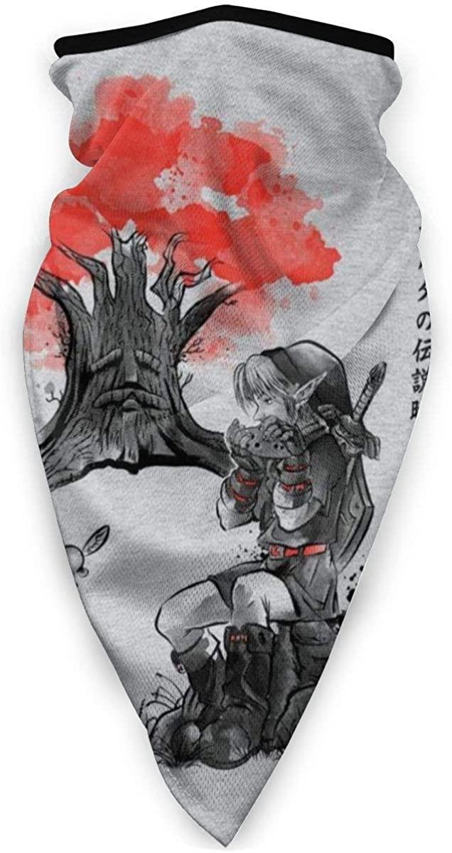 The Great Deku Japan Legend Of Zelda Face Mask Bandanas For Dust, Outdoors, Festivals, Sports