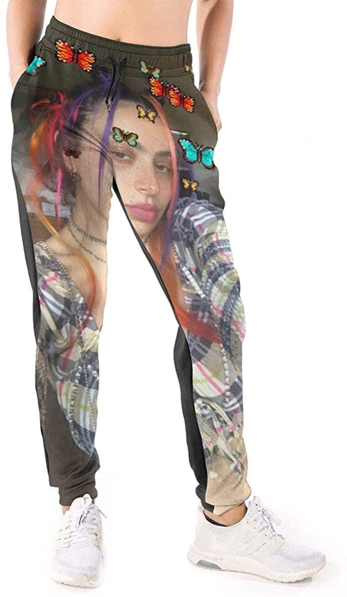 HangHisi Charli XCX Women's Casual Pants Sweatpants Joggers Pants Sports Trousers