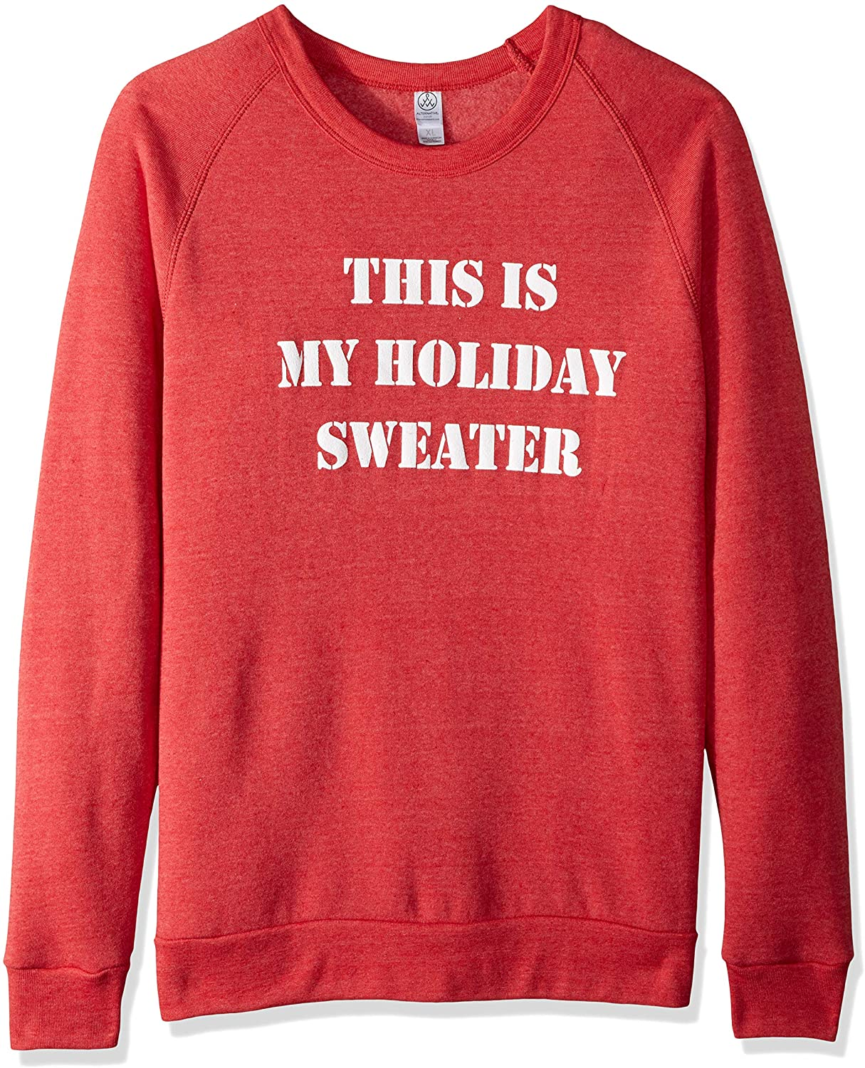 Alternative Unisex-Adults The Champ Holiday Sweater