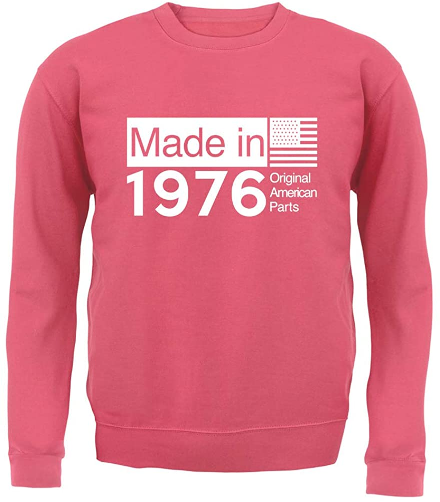 Made in 1976 USA Parts - Unisex Crewneck Sweater/Jumper