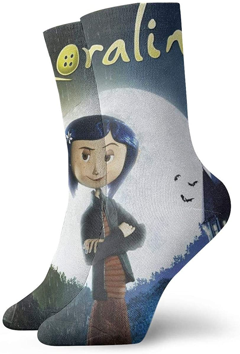 Coraline Magic Gathering Socks, High Ankle Socks Halloween Socks