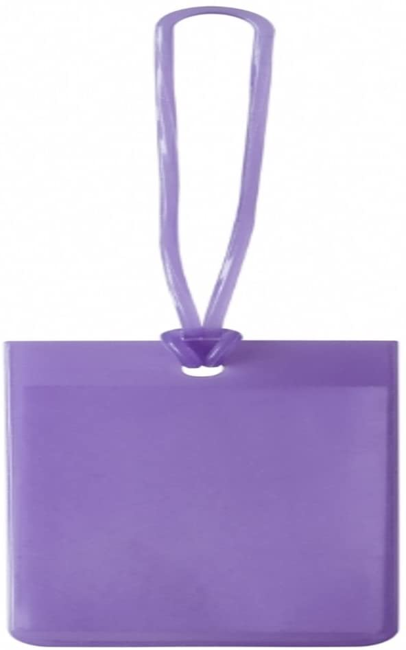 Lewis N. Clark Jelly Luggage Tag (Purple)