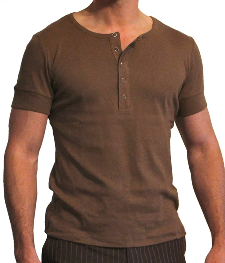 Magnoli Clothiers Tennant Short-Sleeved Henley