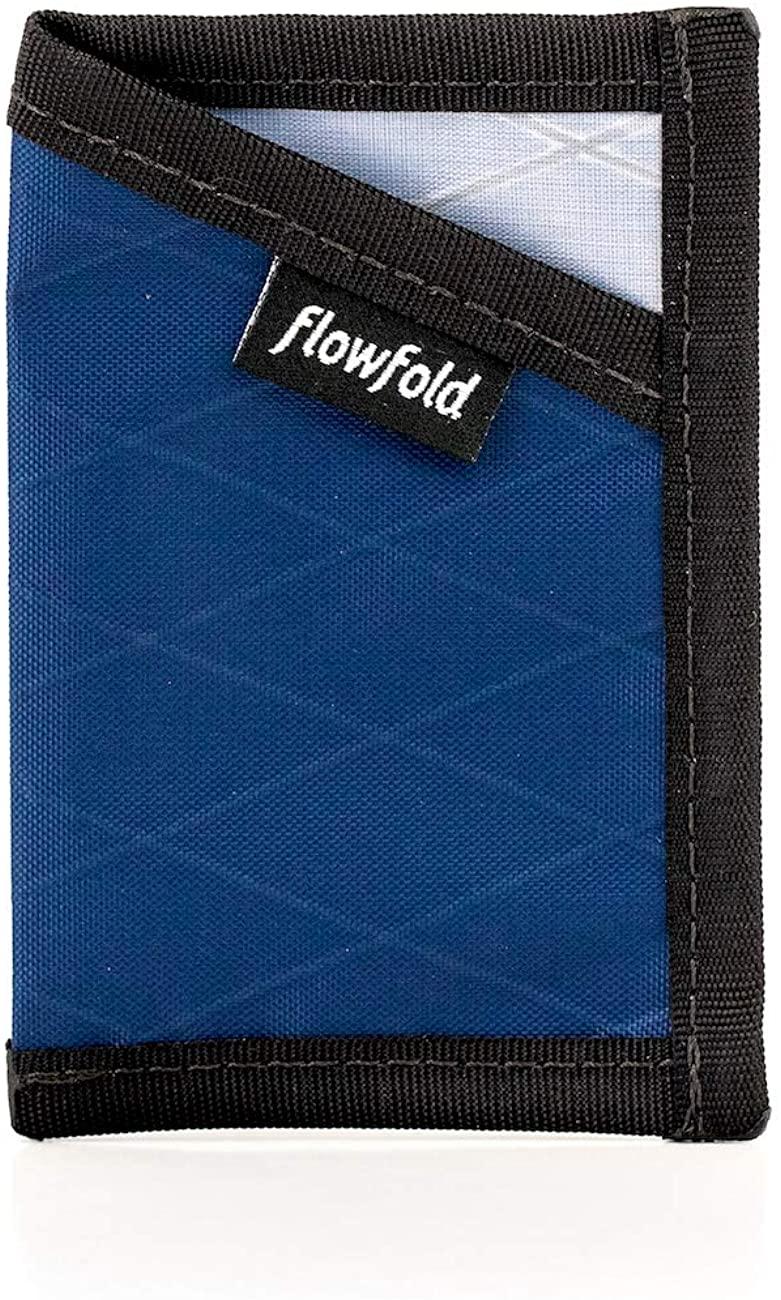 Flowfold RFID Blocking Minimalist Slim Front Cardholder Wallet - Light Weight - Made in the USA