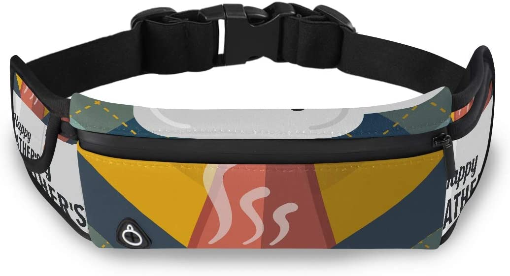 Cold Winter Drink Warm Cup Coffee Fishing Waist Bag Fashion Bags Men Love Fanny Pack With Adjustable Strap For Workout Traveling Running