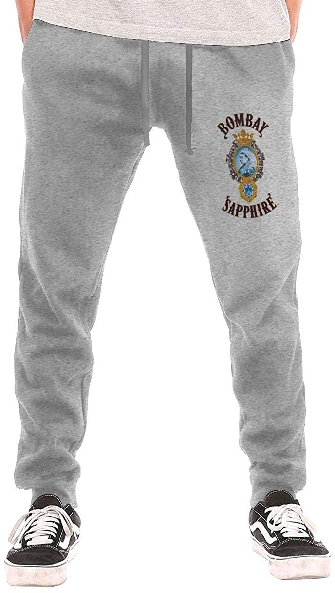 Bombay Sapphire Men's Workout Activewear Long Pants Sweatpants for Men