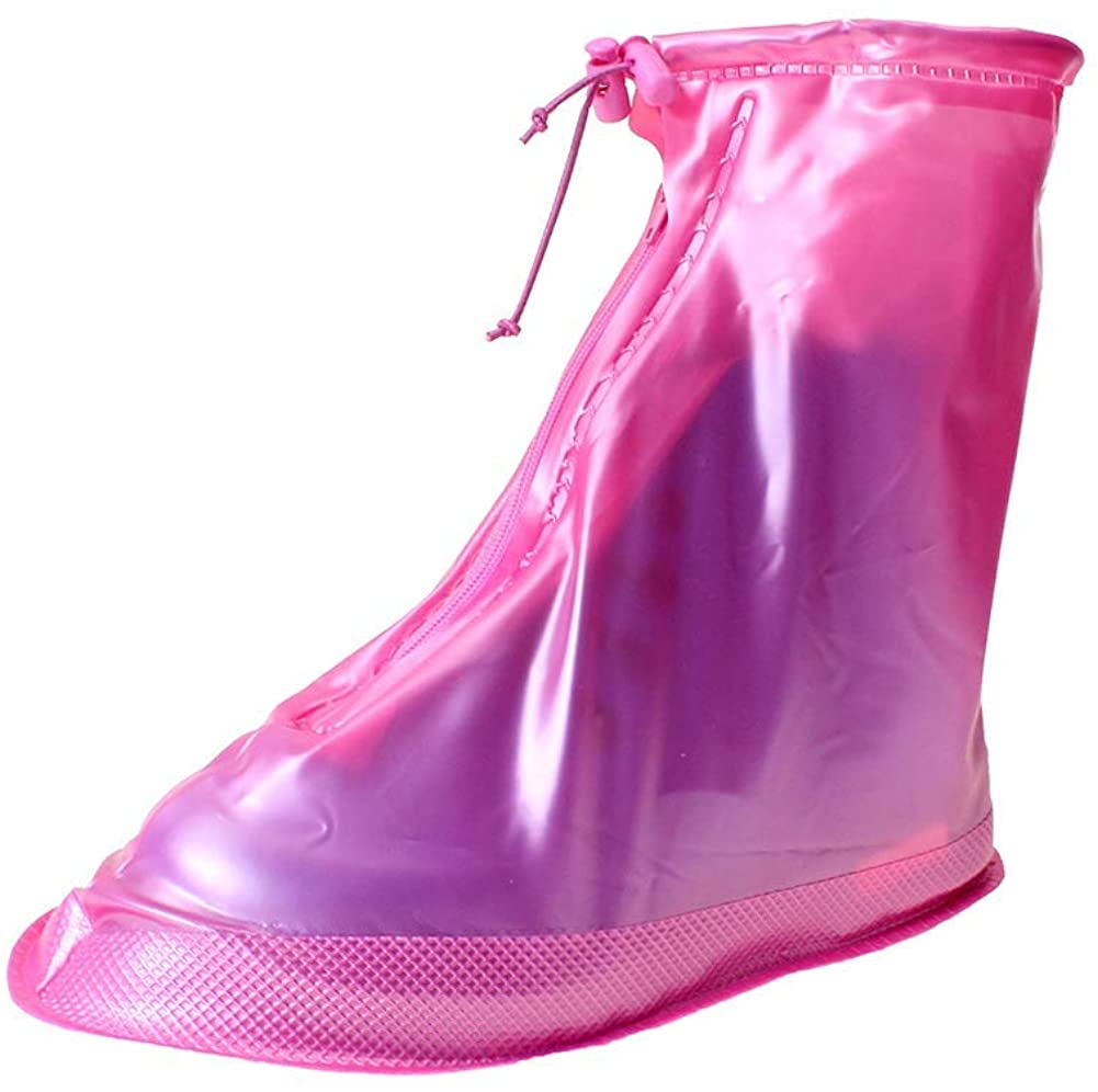 Child Waterproof Shoe Covers Outdoor Rain Overshoes for Girls Boys