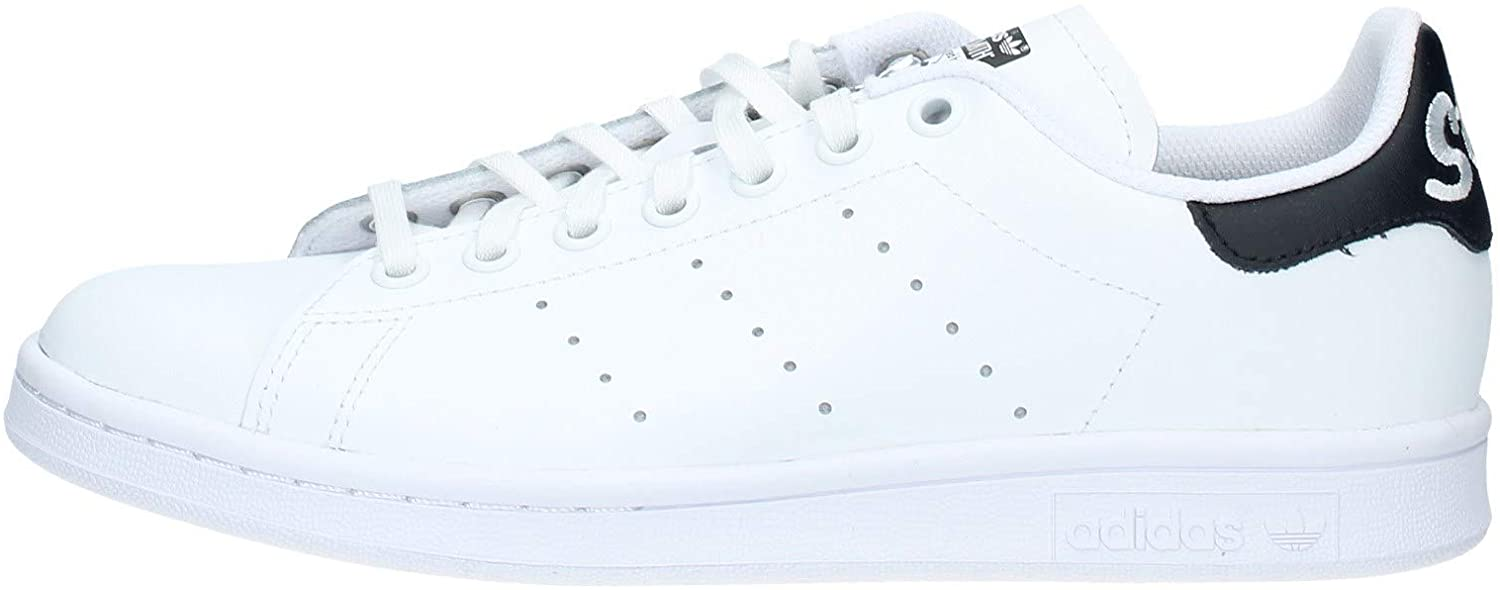 ADIDAS shoes junior low sneakers EE7570 STAN SMITH J size 37 1-3 White black