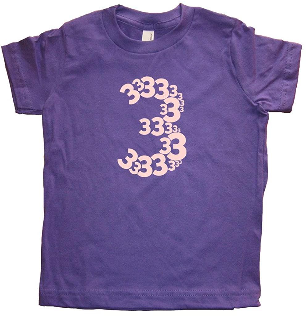 Girls 3rd Birthday 3 Year Old Shirt Vintage Blend T-Shirt