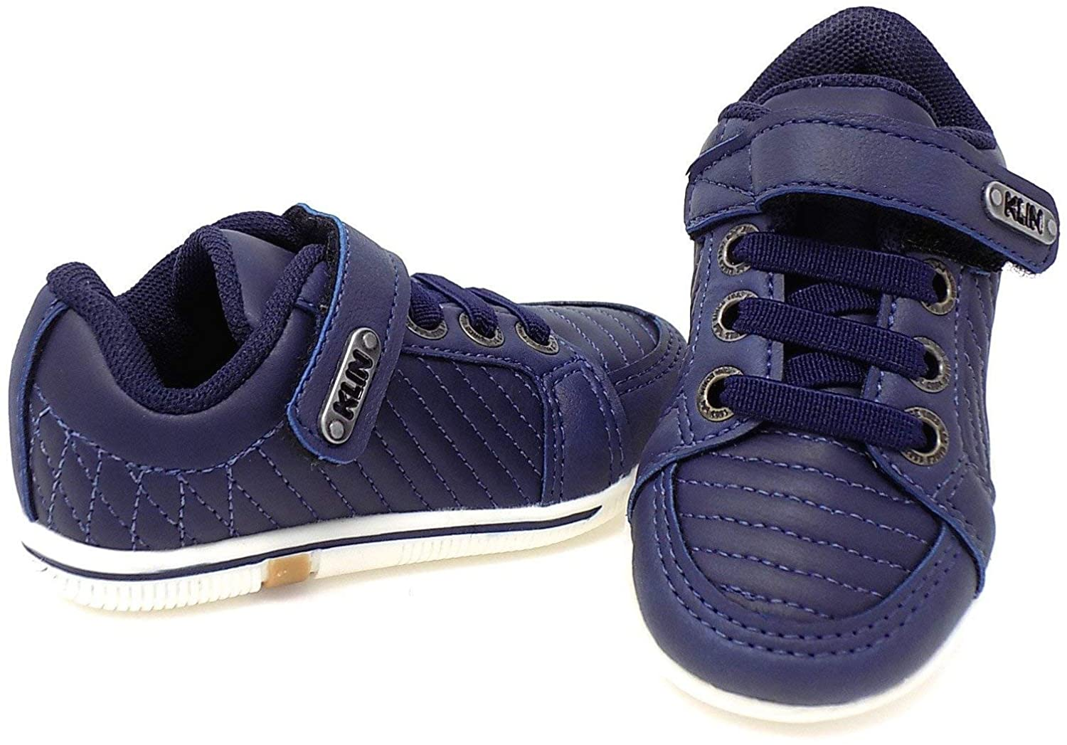 Velcro Navy Flyer Kids' Shoes