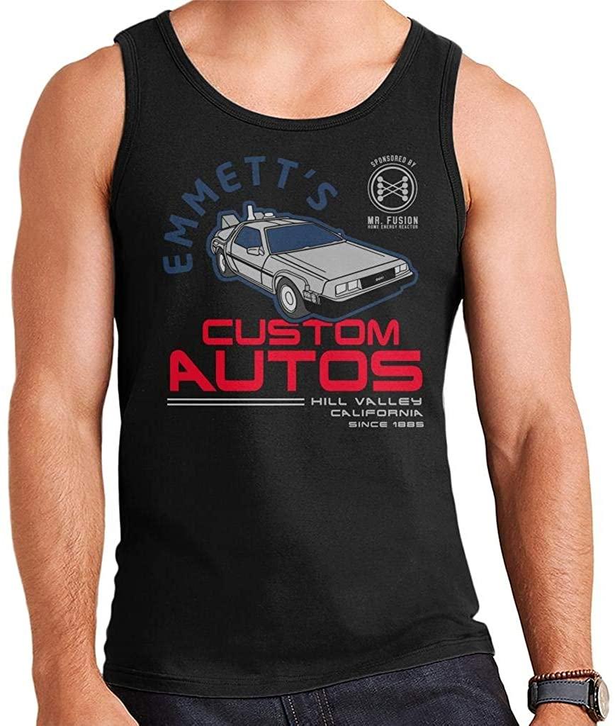 Back to The Future Emmetts Custom Autos Men's Vest