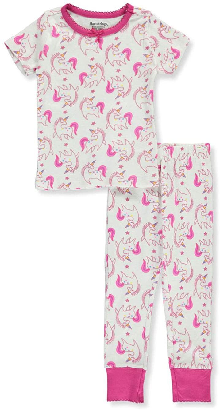 Hartstrings Girls' Unicorn 2-Piece Pajamas