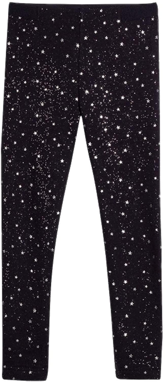 Mayoral - Shiny Stars Leggings for Girls - 7711, Navy