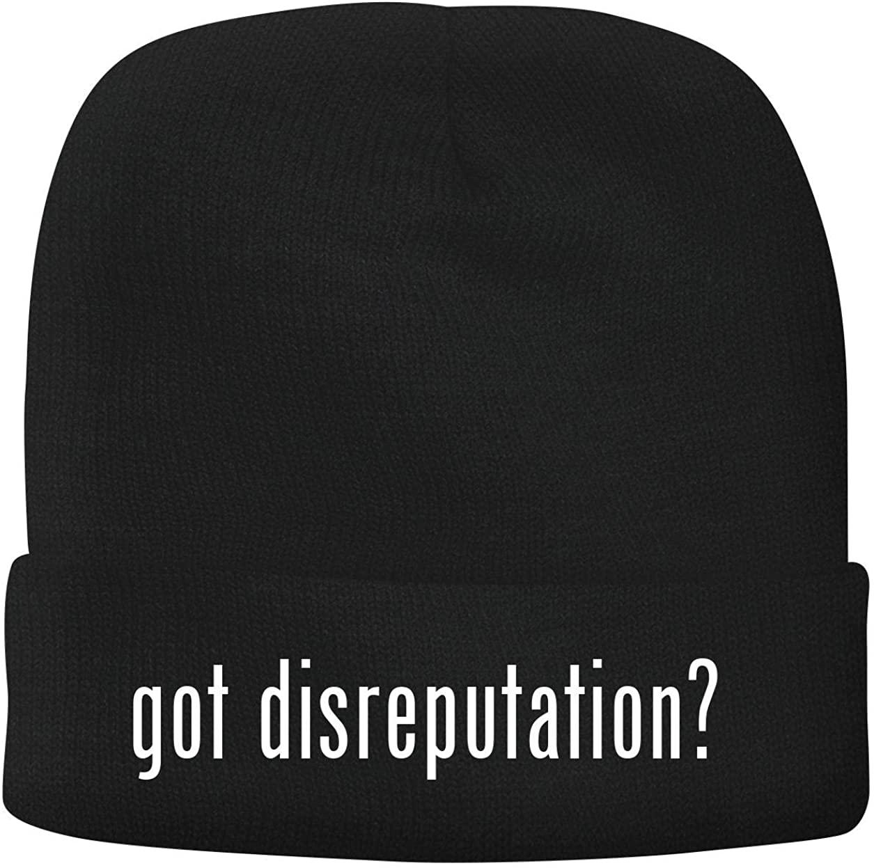 BH Cool Designs got Disreputation? - Men's Soft & Comfortable Beanie Hat Cap