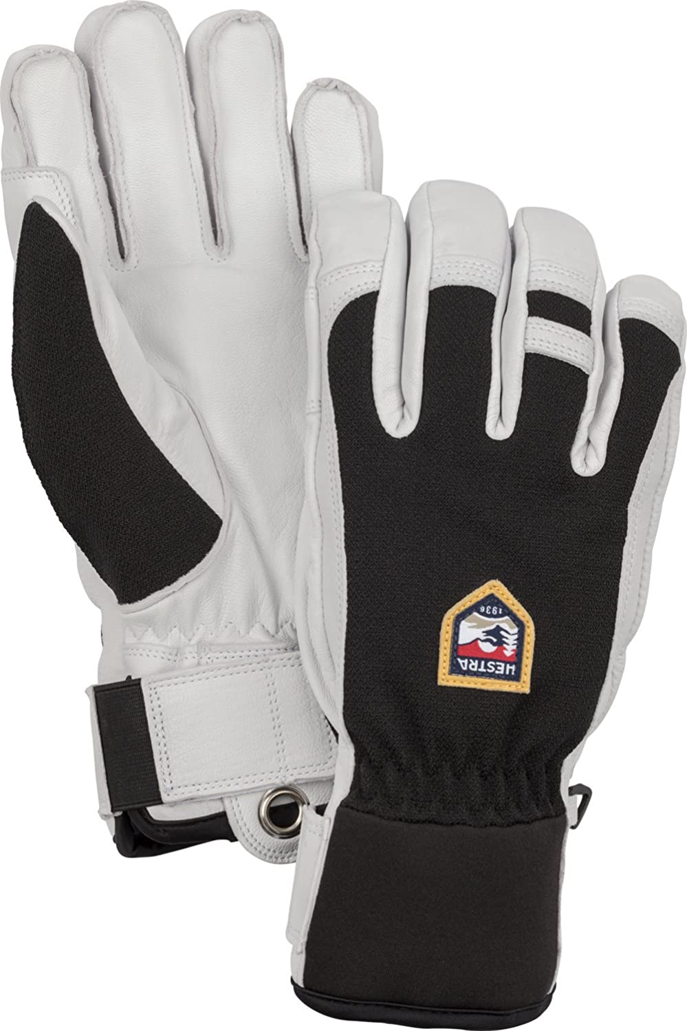 Hestra unisex Hestra Ski Gloves: Army Leather Patrol Winter Cold Weather Glove