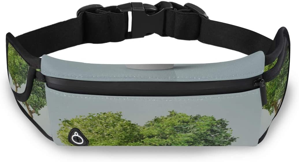 Alentine Tree Love Leaf Hearts Fashion Casual Bag Child Fanny Pack Waist Fanny Bag With Adjustable Strap For Workout Traveling Running