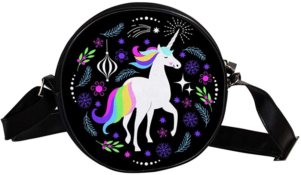 Coin Purse For Kids Unicorn Mini Crossbody Bag Girls Wallet