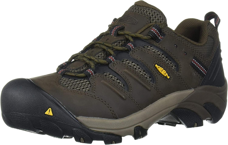 KEEN Utility Men's Lansing Low Steel Toe Work Shoe Construction