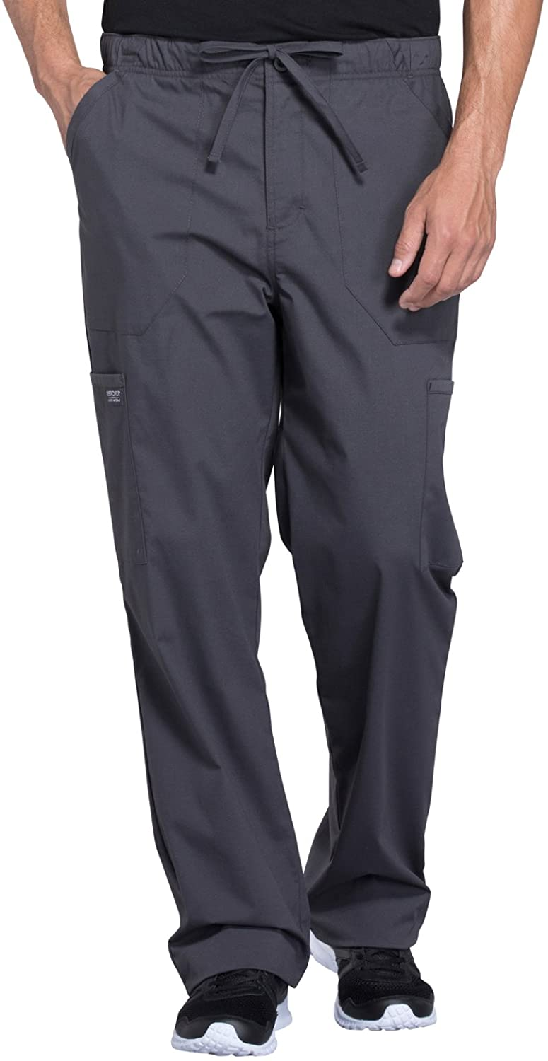 Cherokee Workwear Professionals WW190 Men's Tapered Leg Pant
