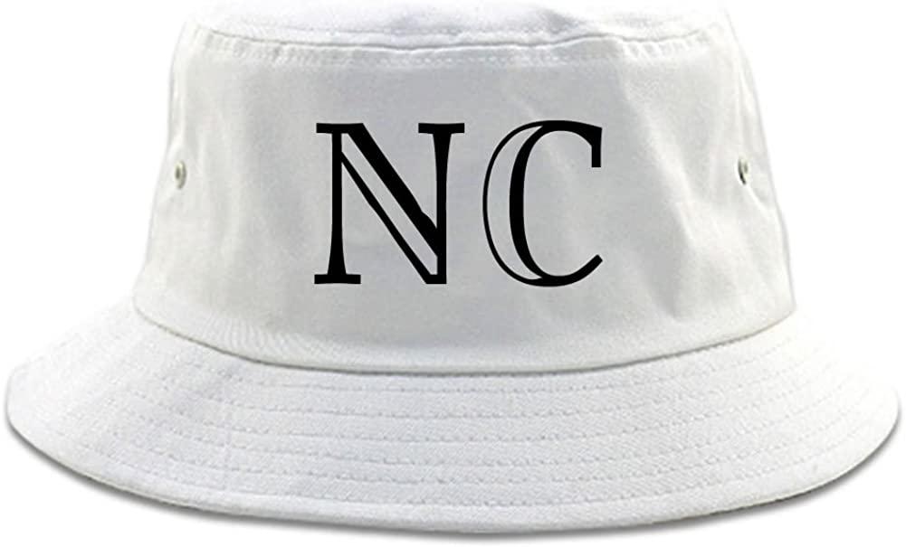 NC North Carolina High Fashion Typography State Bucket Hat