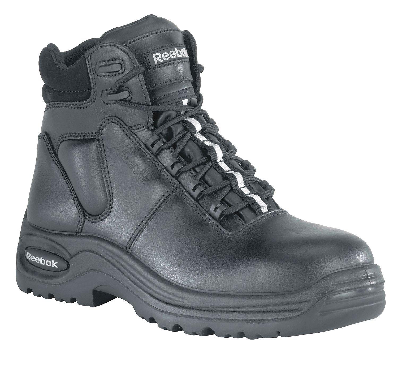 Work Boots, Composite Toe, 6In, 10-1/2W, PR