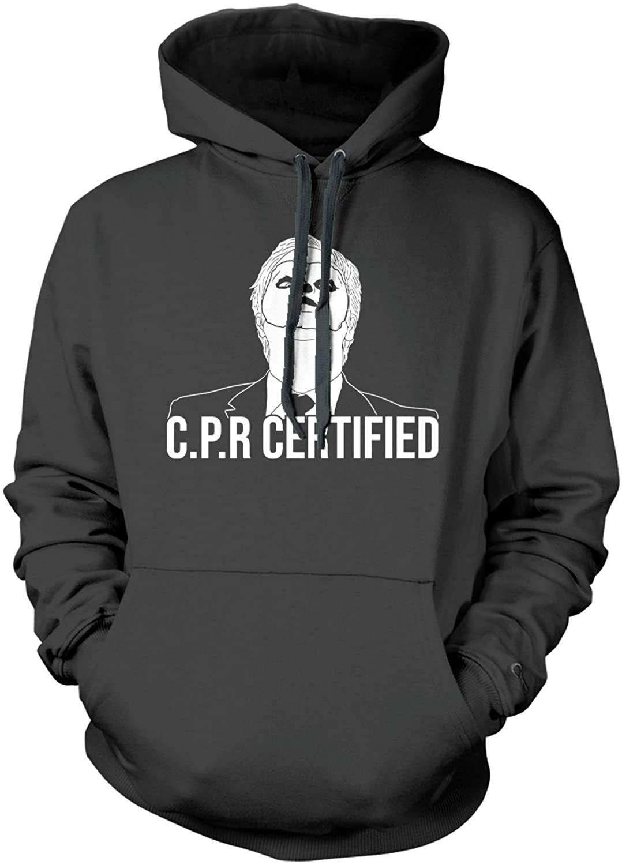 Haase Unlimited CPR Certified - Dwight Dummy Face Unisex Hoodie Sweatshirt