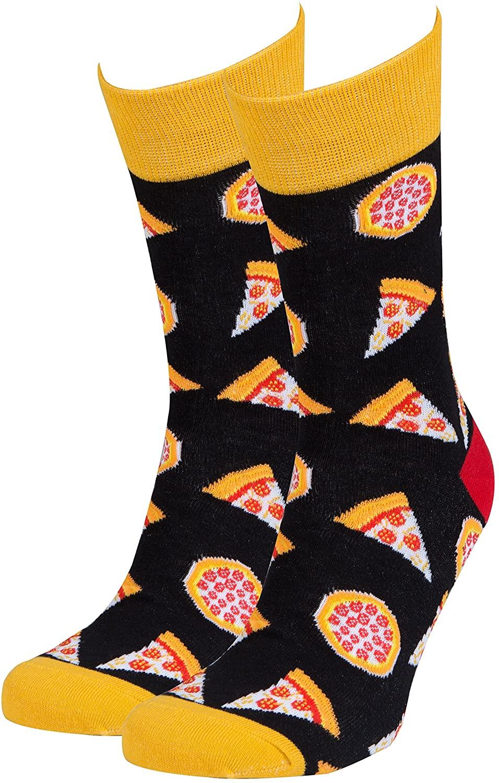 Socks n Socks-Men's Luxury Cotton Colorful Funny Cool Socks