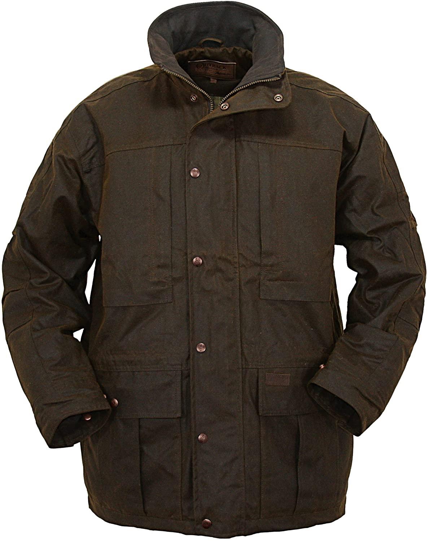 Outback Trading Co Men's Co. Deer Hunter Oilskin Jacket - 2180