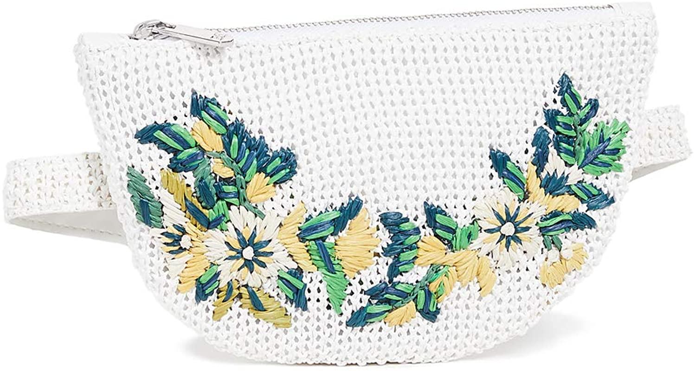 Sam Edelman Women's Darcy Raffia Belt Bag