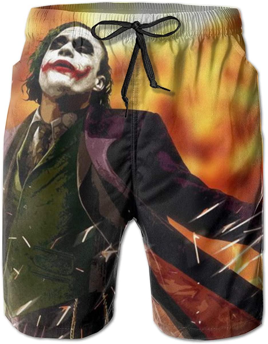 Joker Swim Trunks The Dark Knight Swimwear Quick Dry Beachwear Waterproof Swim Board Shorts