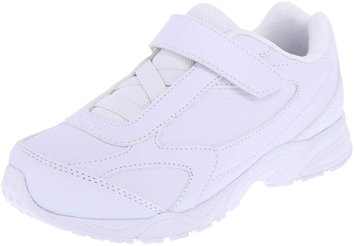 SmartFit Boys' White Hutch Strap Sneaker
