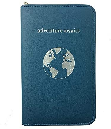 Phone Charging Passport Holder -Multiple Variations with NEW and IMPROVED Removable Power Bank- RFID Blocking - Travel Wallet Compatible with All Phones - Travel Accessories
