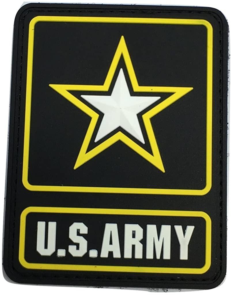 COLOR US ARMY LOGO PVC PATCH
