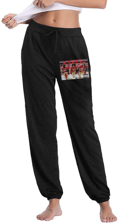 Ingqkuhua Kneeling Colin Kaepernick Slacks Sweatpants Trousers Woman's Casual Pants