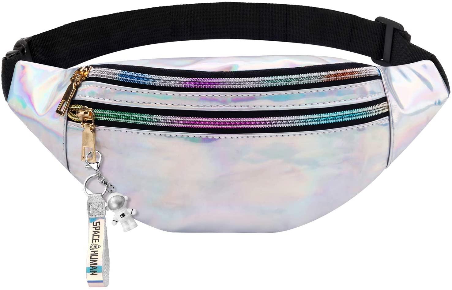 Bageek Fanny Pack for Women Fashion Waist Packs Belt Bag Waist Bag for Women & Men Sling Bag Adjustable Shoulder Bag for Running, climbing, fishing