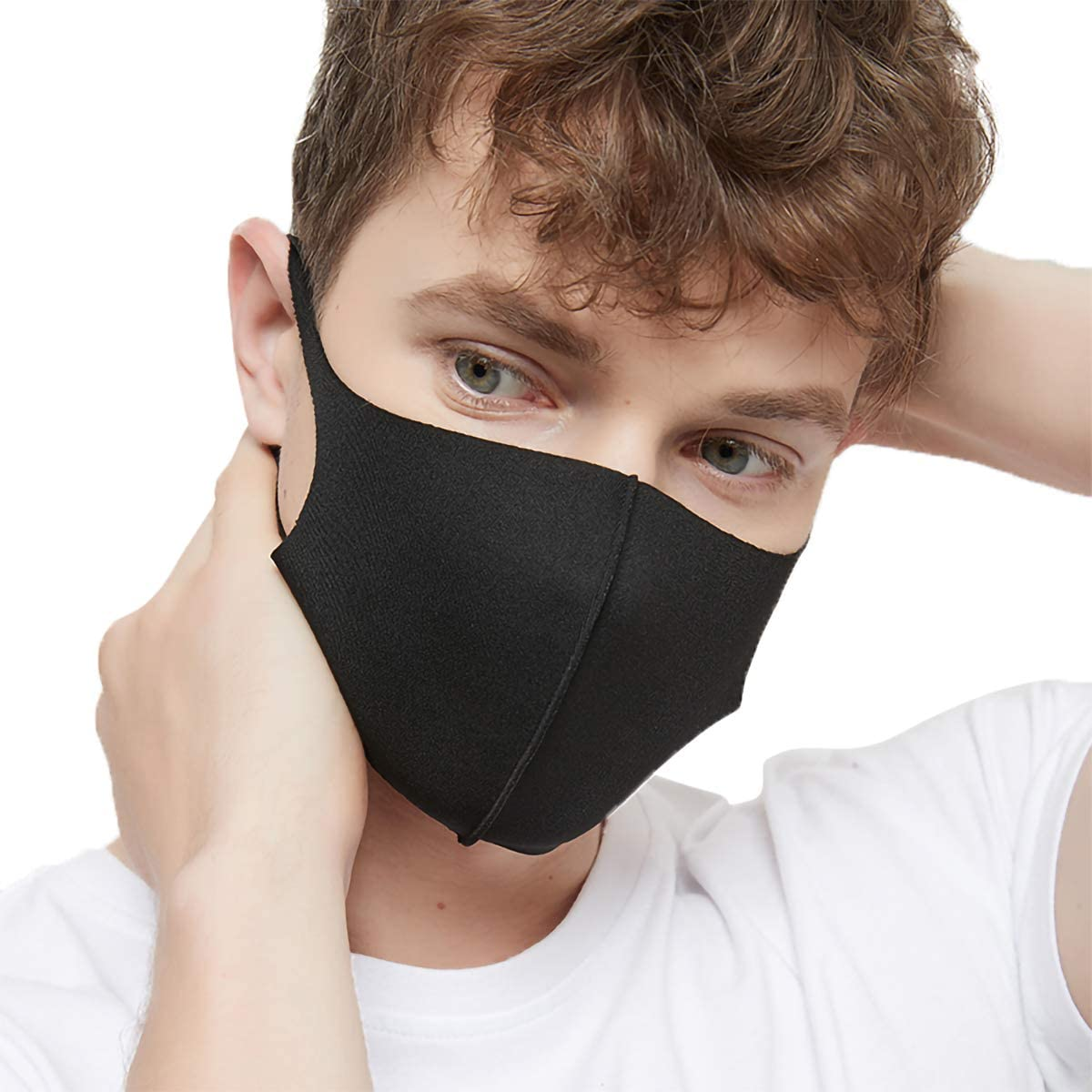 3 Pieces Unisex Face, Outdoor Haze Face Durable Breathable Lightweight Face Shield Dust Mouth