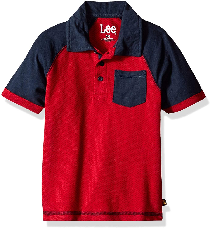 Lee Uniforms Boys' Short Sleeve Polo Shirt