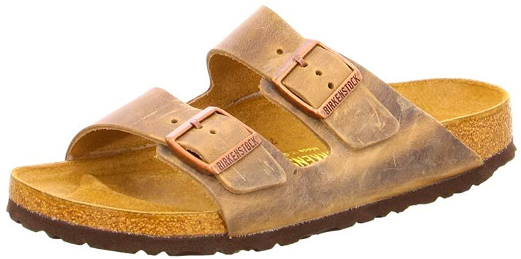 Birkenstock Unisex Arizona Tabacco Brown Sandal