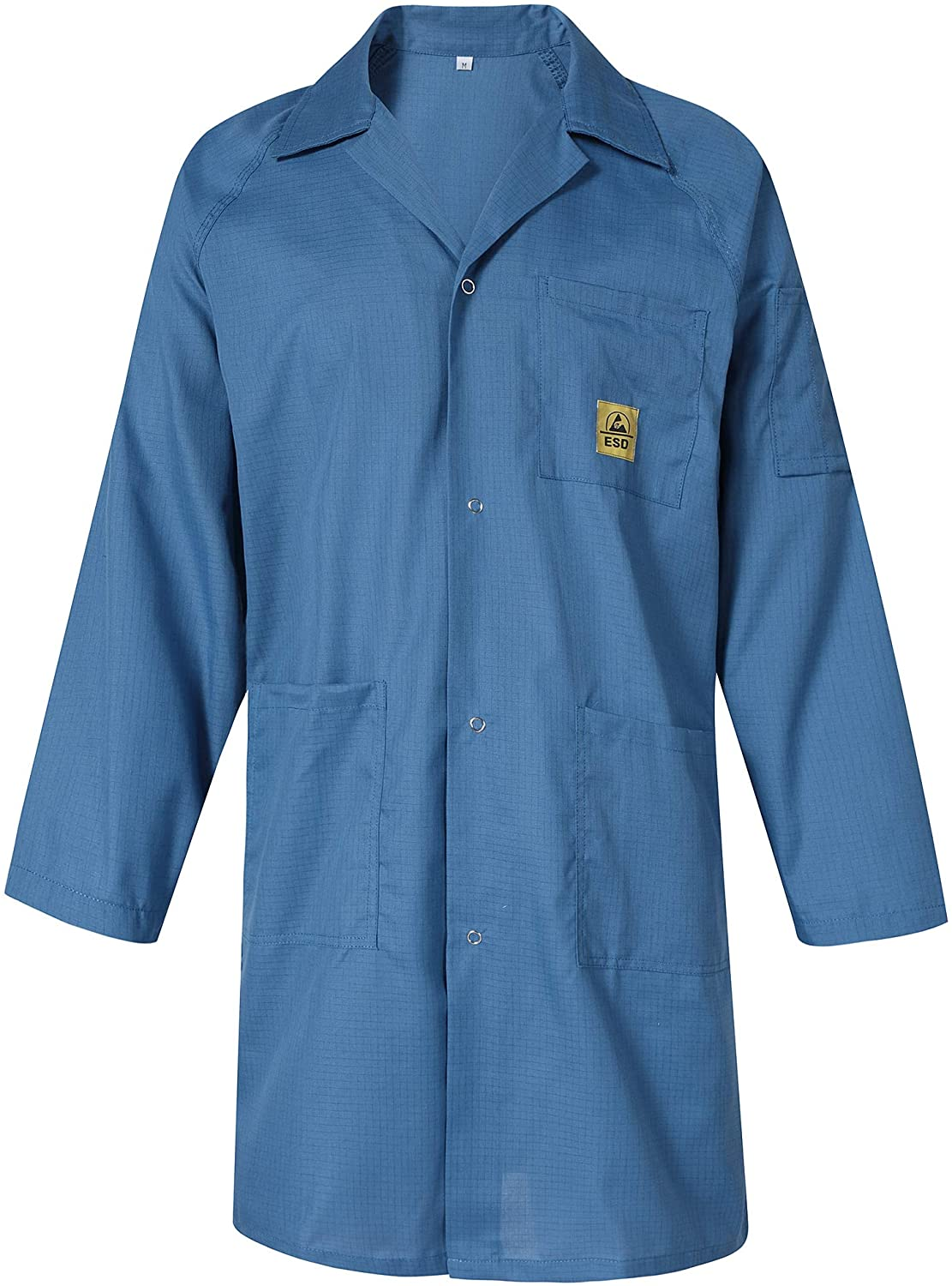 earthinglife ESD Conductive Coat Smocks Comfort Fit