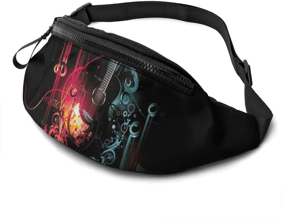 Amazing Guitar Music Fanny Pack Fashion Waist Bag