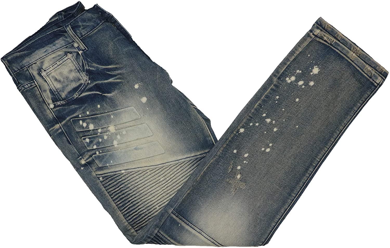 Reason Acid Splatter Wash Pacific Denim Jeans