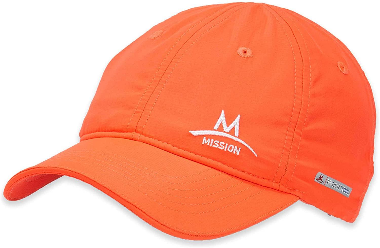 MISSION Enduracool Cooling Performance Hat, Hi Vis Coral