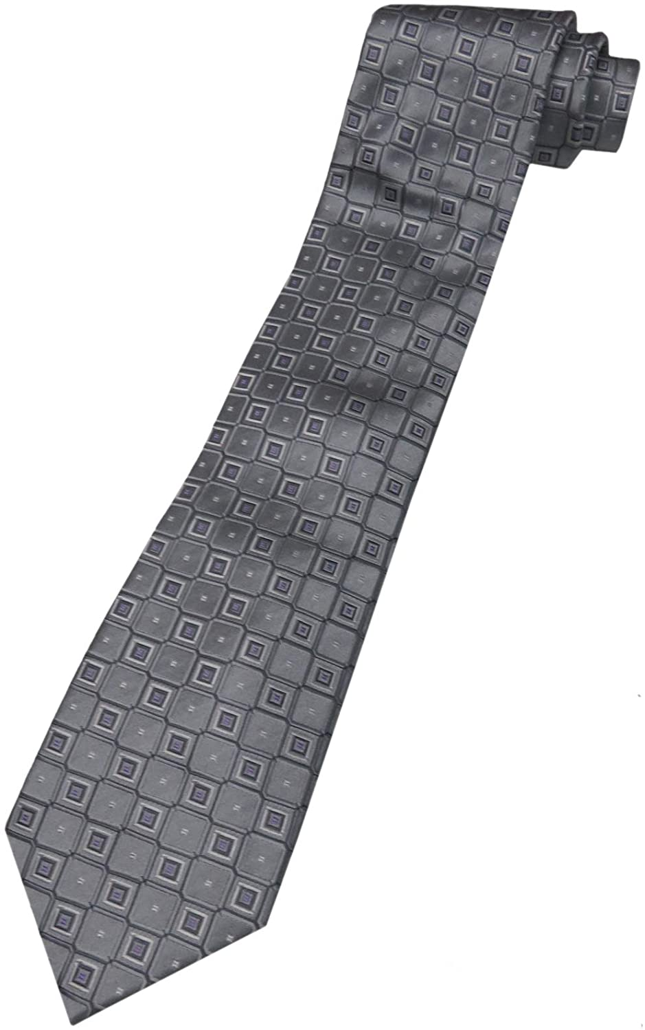 Donald Trump Neck Tie Silver and Purple