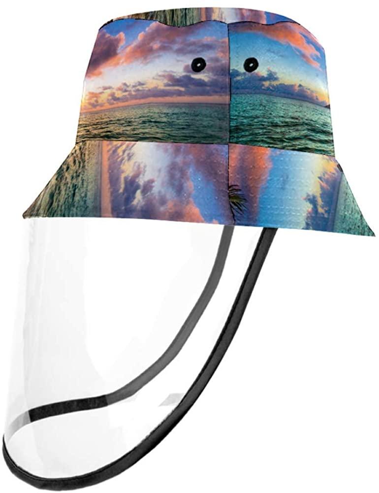 Beautiful Lanikai Kailua Sunrise in Hawaii Fisherman Cap Unisex Hats for Adults and Children