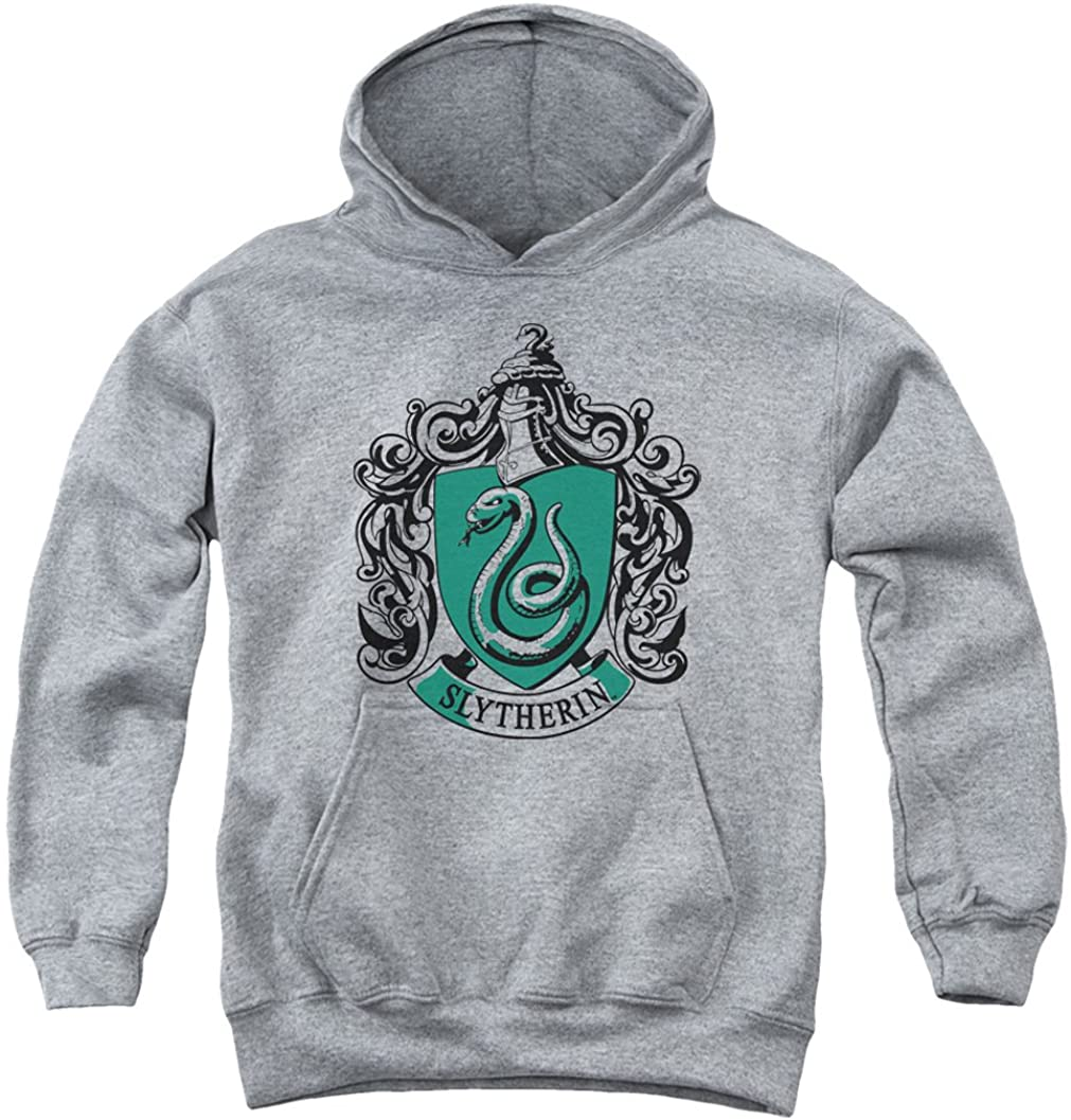 A&E Designs Kids Harry Potter Hoodie Slytherin Crest Youth Hoody
