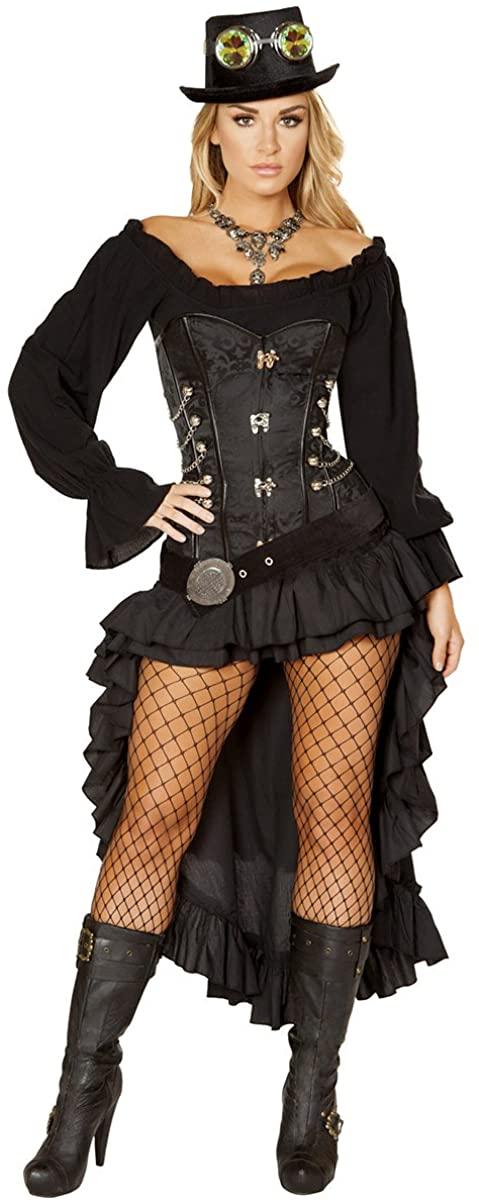 Musotica Sexy Alita Steampunk Princess Costume with Accessories