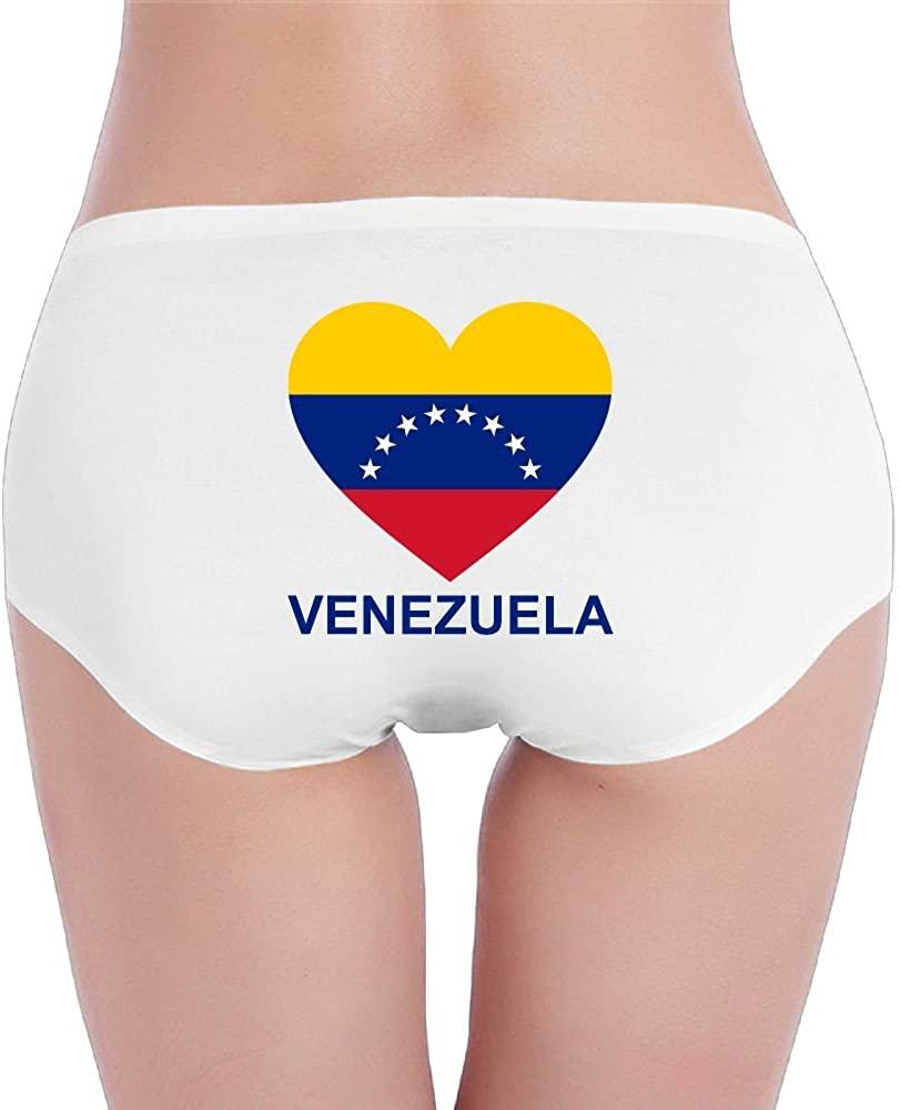 Love Venezuela Womens Underwear Seamless Low Waist Briefs Stretch Panties