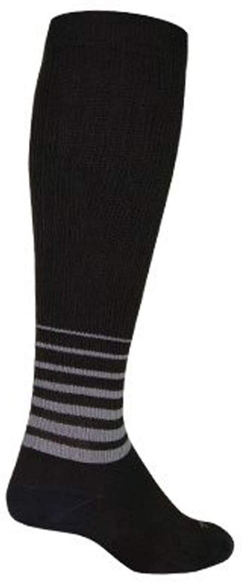 SockGuy SGX 12in Blackout Performance Cycling/Running Socks